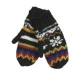 Newari by Icelandic Design Nordic Handknit Wool Mittens (For Women)