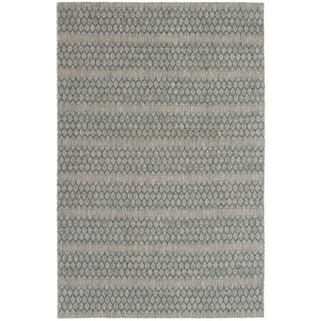 "Loloi Isle Collection Grey and Teal Area Rug - 5'3""x7'7"""