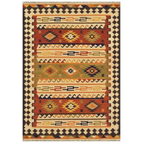 "Loloi Isara Collection Multi Area Rug - 7'6""x9'6"", Wool"
