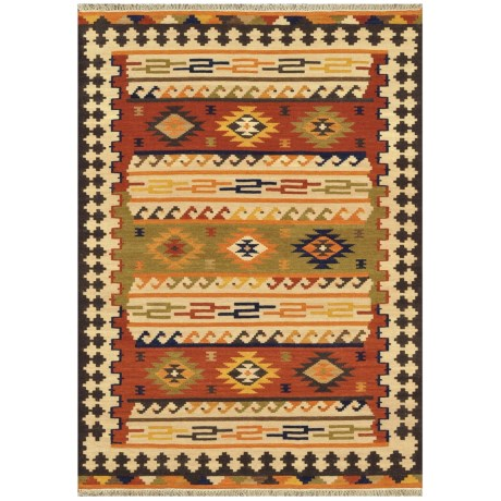 "Loloi Isara Collection Multi Area Rug - 5'x7'6"", Wool"