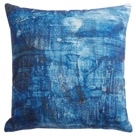 Levinsohn Denim-Print Throw Pillow - 18x18""