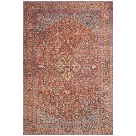 """Loloi Loren Collection Multi-Red Scatter Accent Rug - 2'3""""x3'9"""""""