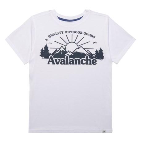Avalanche Explorer T-Shirt - Short Sleeve (For Big Boys)