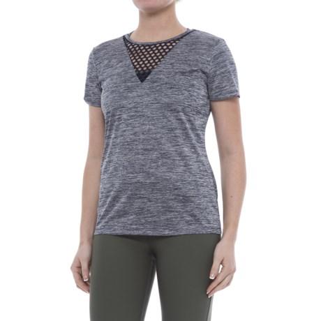 ABS Allen Schwartz ABS by Allen Schwartz Lattice Insert T-Shirt - Short Sleeve (For Women)