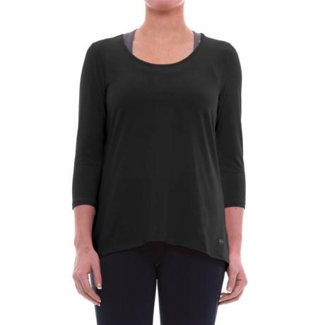 ABS Allen Schwartz ABS by Allen Schwartz Hi-Low T-Shirt - 3/4 Sleeve (For Women)