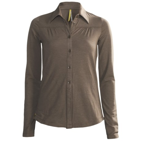 Lole Kindly Polo Shirt - Merino Wool, Long Sleeve (For Women)