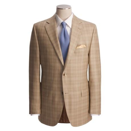 Jack Victor Plaid Sport Coat - Wool-Silk (For Men)