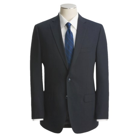 Calvin Klein Wool Stripe Suit - Modern Fit (For Men)