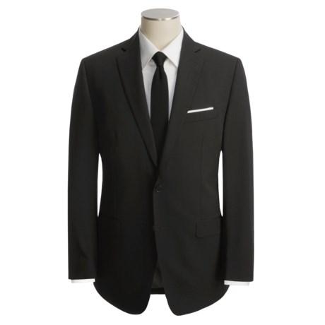 Calvin Klein Black Wool Suit (For Men)