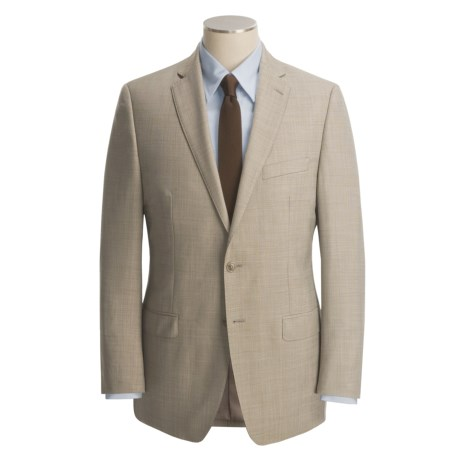 Calvin Klein Wool Sharkskin Suit - Modern Fit (For Men)