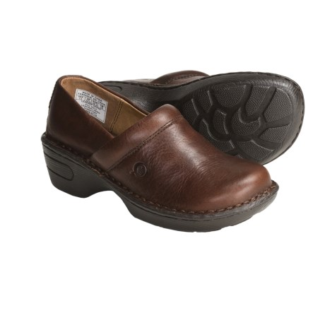 Born Toby Clogs - Leather (For Girls)