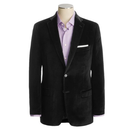 Calvin Klein Velvet Sport Coat - Slim Fit (For Men)