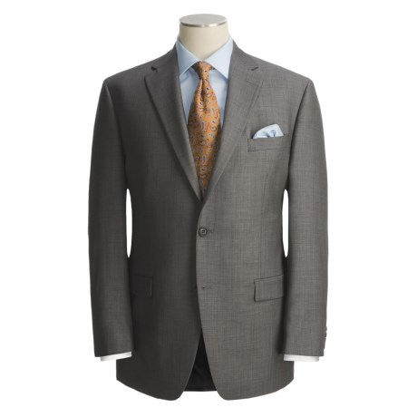 Lauren by Ralph Lauren Neat Charcoal Suit - Wool (For Men)