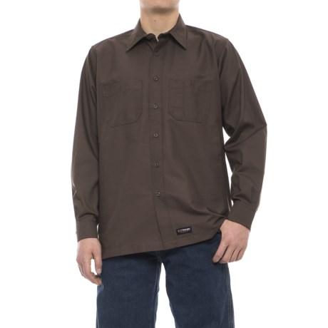 Wrangler Rugged Canvas Work Shirt - Long Sleeve (For Men)