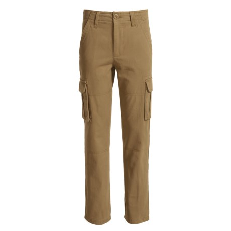 French Toast Cargo Pants (For Big Boys)