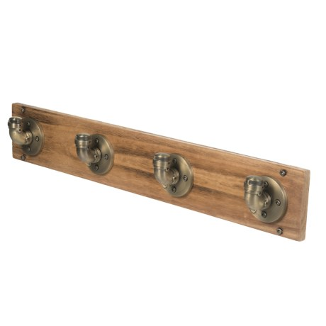 Furniture Pipeline San Antonio Industrial Wall-Mounted Coat Rack