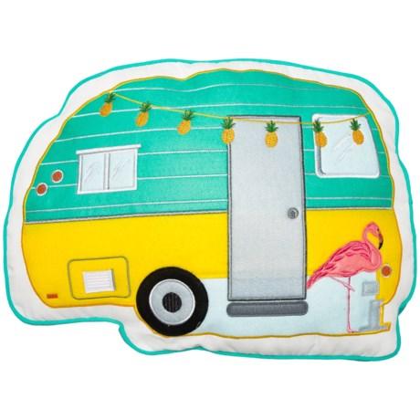 """Isaac Mizrahi Camper Throw Pillow - 20x14.5"""""""
