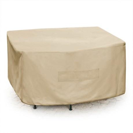 Backyard Basics Premium Square Patio Set Cover - 75x75x30