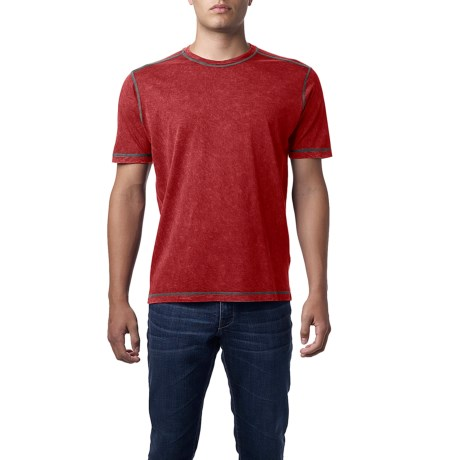 Agave Denim Chute Shirt - Sanded Jersey, Short Sleeve (For Men)