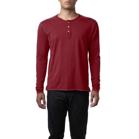 Agave Denim Exposure Henley Shirt - Slub Cotton, Long Sleeve (For Men)