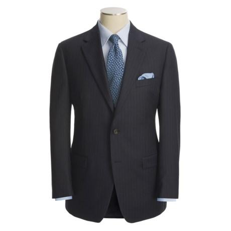 Lauren by Ralph Lauren Navy Beaded Stripe Suit - Wool (For Men)