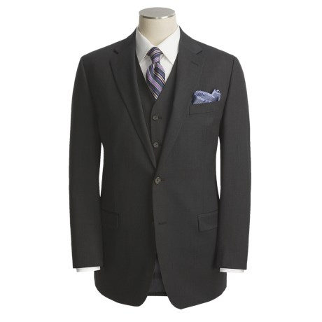 Lauren by Ralph Lauren Sharkskin Suit - 3-Piece, Wool (For Men)