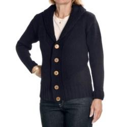 Peregrine by J. G. Glover Peruvian Merino Wool Cardigan Sweater - Shawl Collar (For Women)