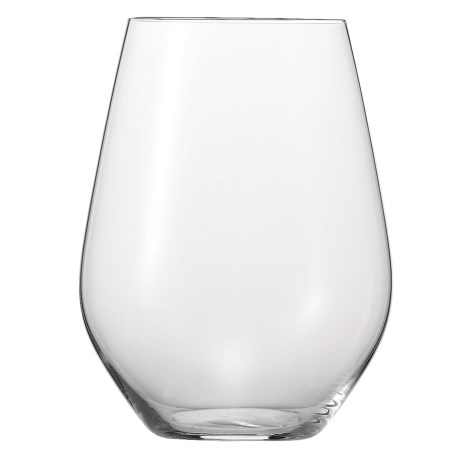 Spiegelau Authentis Bordeaux Glass - Stemless, Set of 4