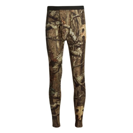 Terramar Helix Camo Base Layer Bottoms - Lightweight (For Men)