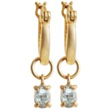 Prime Art Interchangeable Earrings - 18K Gold-Plated Sterling Silver