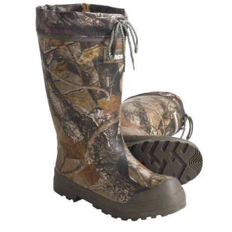 Sportchief Camo Rubber Hunting Boots - Removable Felt Liner (For Men)