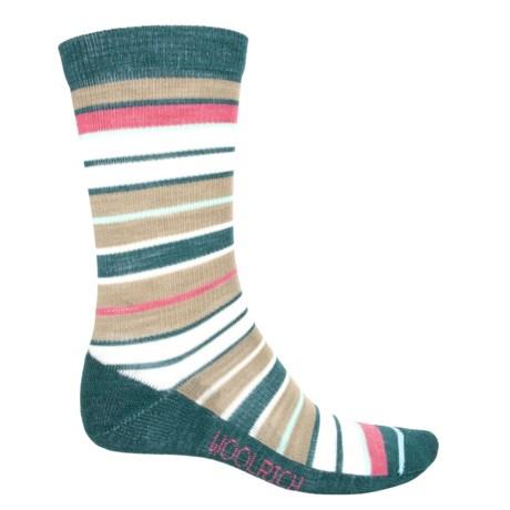 Woolrich Wide-Stripe Socks - Merino Wool, Crew (For Women)