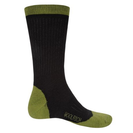 Woolrich Midweight Hike Socks - Merino Wool, Crew (For Men)
