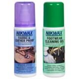Nikwax Footwear Cleaning and Waterproofing Duo Pack - 4.2 oz.