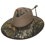 Dorfman Pacific Camo Mesh Crown Safari Hat - UPF 50+ (For Men)