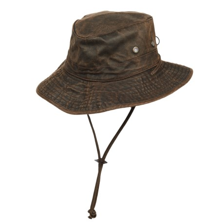 Magellan Outdoors Outback Hat - UPF 50+, Weathered Cotton (For Men)