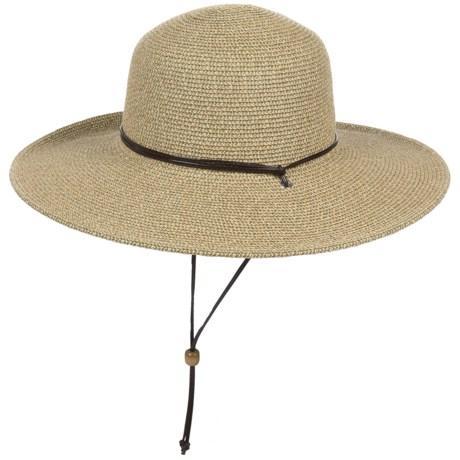 Scala Paper Braid Summer Hat - UPF 50+ (For Women)