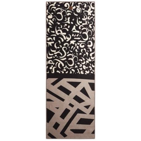 "Manduka Yogitoes Skidless® Clarity in Chaos Yoga Towel - 24x68"""