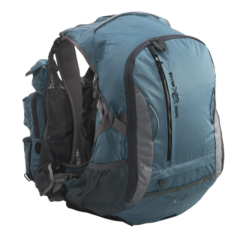 William joseph exodus fly fishing vest pack 3760d save 33 for Fly fishing packs