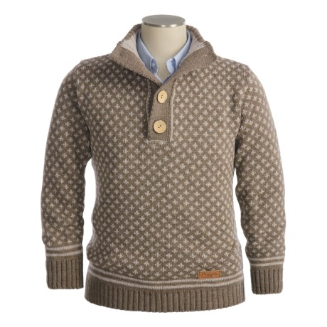 J.G. Glover & CO. Peregrine by J.G. Glover Merino Wool Sweater - Pullover (For Men)
