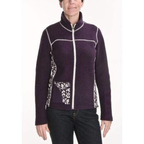Ivanhoe of Sweden Ivanhoe Hanna Jacket - Boiled Wool (For Women)