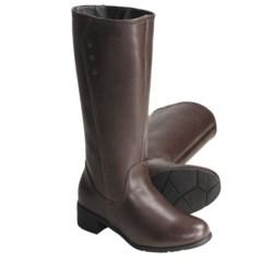 "Henri Pierre by Bastien Tessa Leather Boots - 13"" (For Women)"