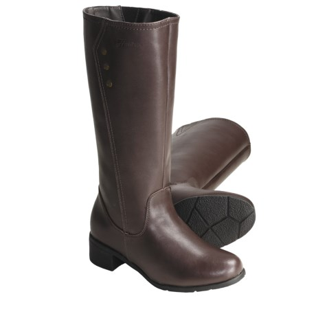 "Henri Pierre by Bastien Tessa Leather Boots - 13"" (For Women)"