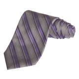 Altea Track Stripe Tie - Silk (For Men)