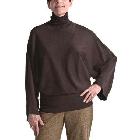 Audrey Talbott Turtleneck Sweater - Long Dolman Sleeve (For Women)