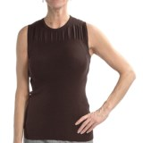 Audrey Talbott Lex Knit Tank Top - Cotton-Silk-Cashmere (For Women)