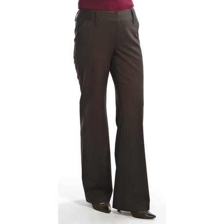 Audrey Talbott Audrey Talbo Hank Pinstripe Pants - Stretch Wool (For Women)