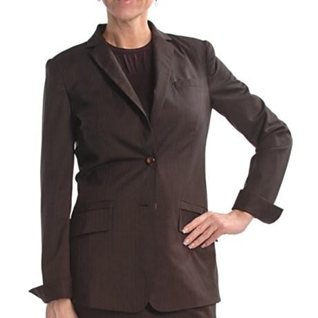 Audrey Talbott Pinstripe Boyfriend Jacket (For Women)