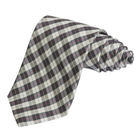 Altea Small Plaid Tie (For Men)