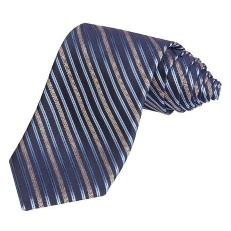 Altea Silk Rope Stripe Tie (For Men)